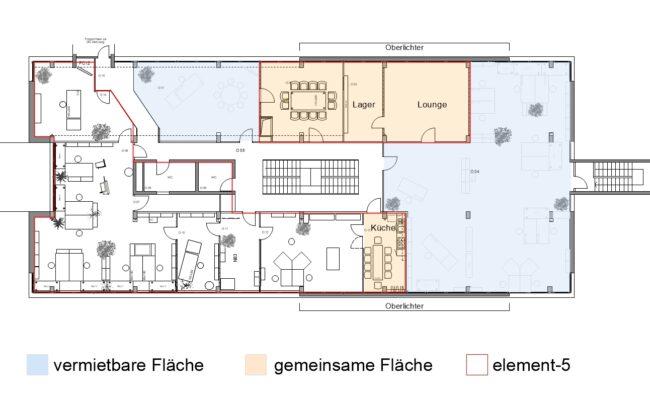 Grundriss Büroflächen 2021-08-03
